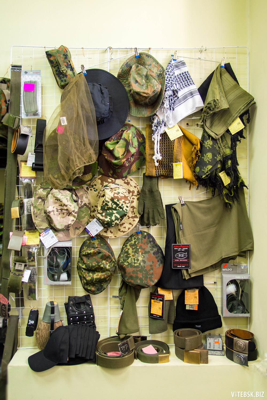 Военная одежда в витебске