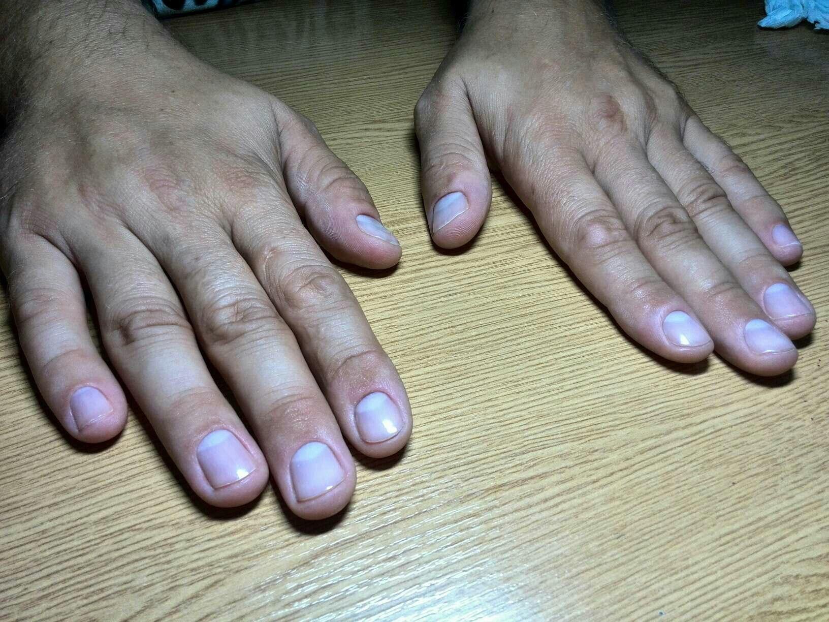 Наращивание ногтей мужчинам фото