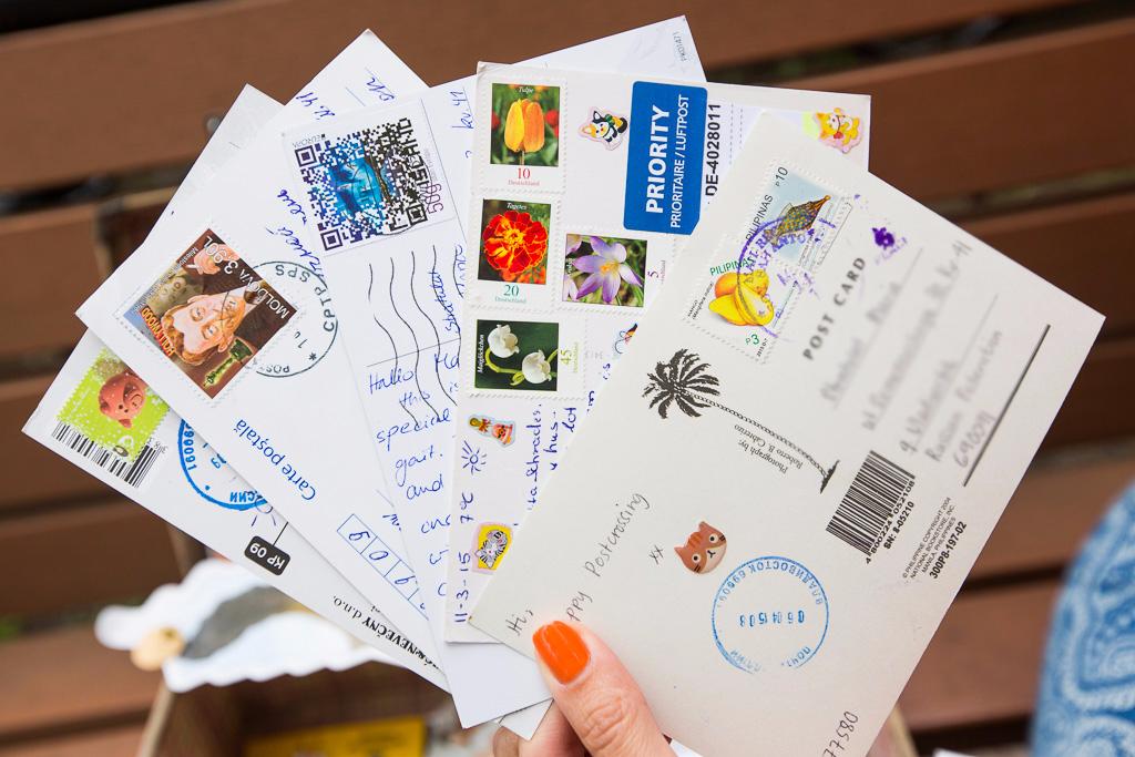 Обмен открытками по миру
