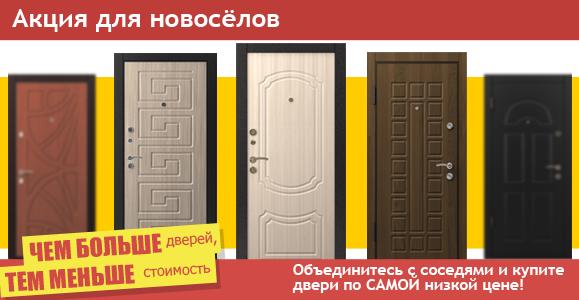 двери входные металлические акция скидки