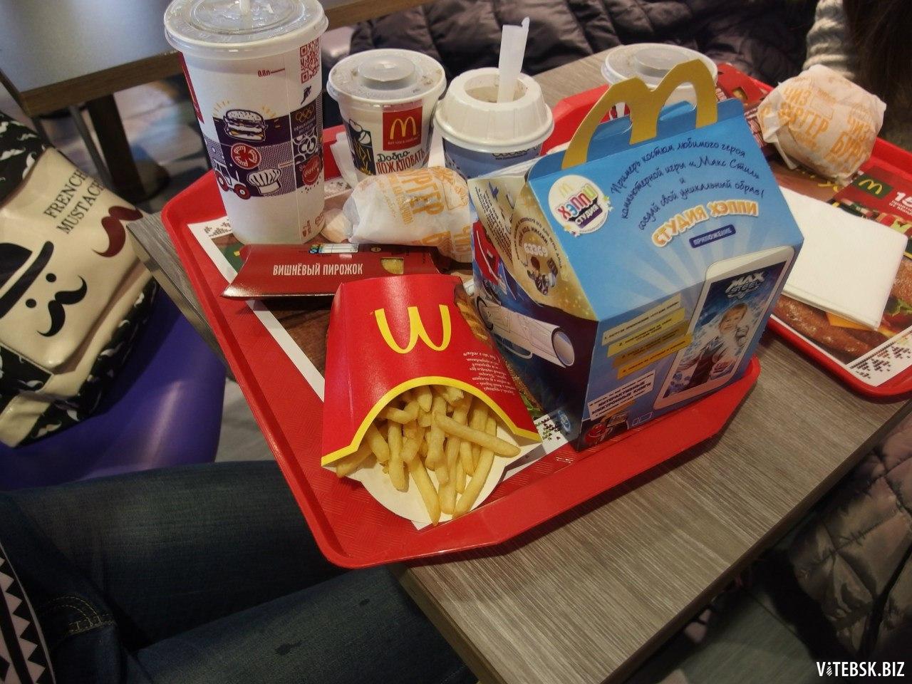 из чего еда в макдональдсе фото здоровье зависит