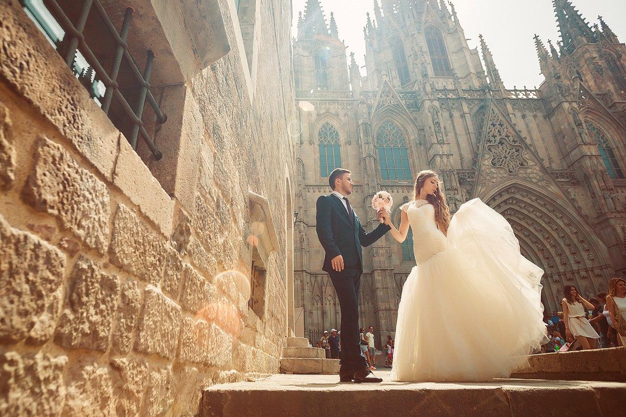 свадьба в испании фото упаковочной