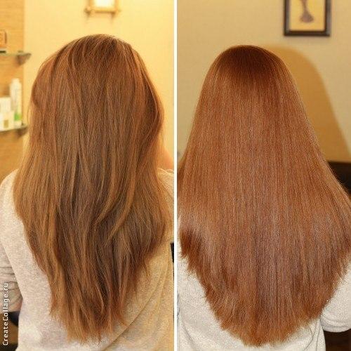 Лечение волос экранирование