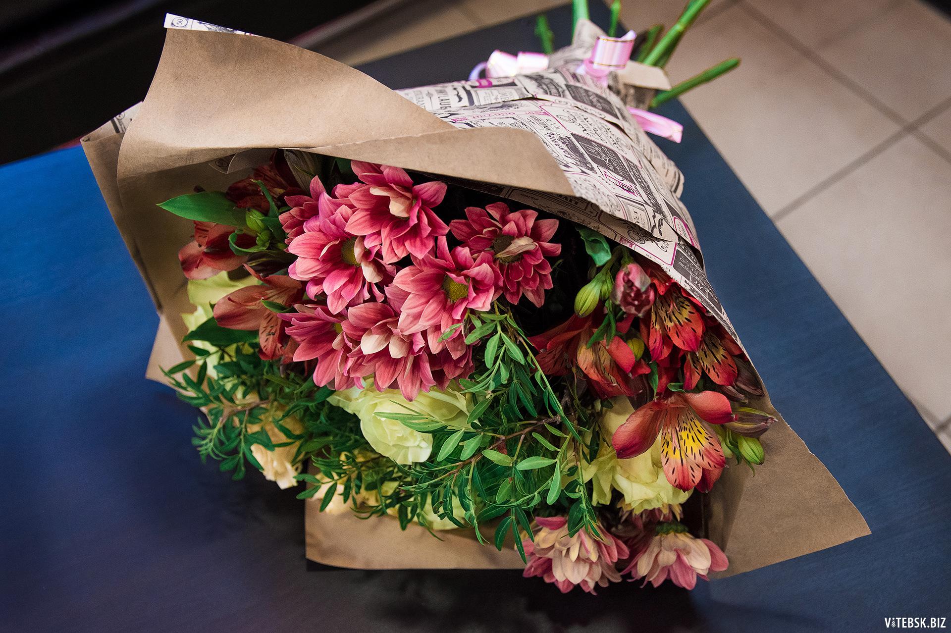 Цветов, доставка роз витебск