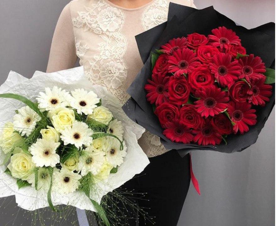 Букет цветов для выпускницы красноярск
