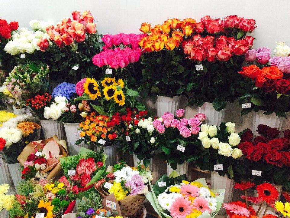 Магазин цветов экзотика, фруктовых