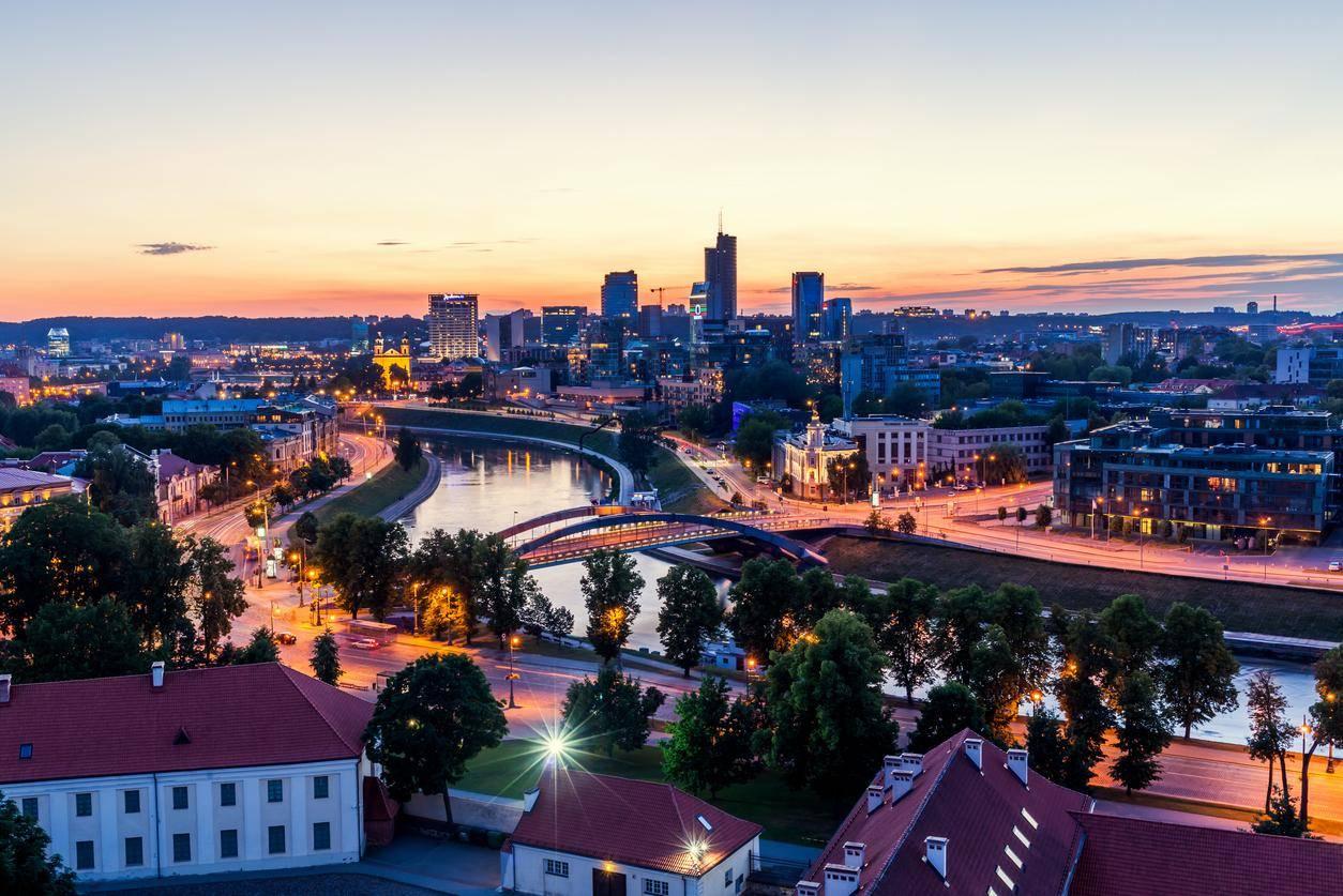 Фотографии города вильнюса