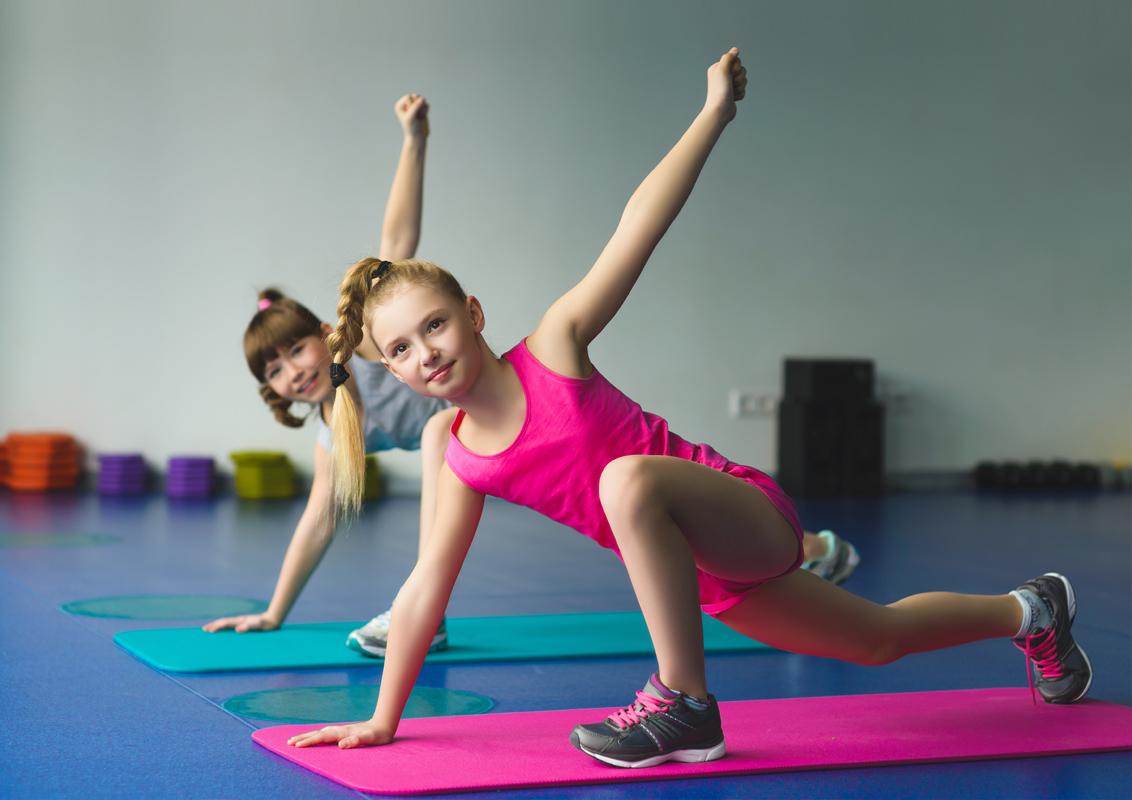 Картинка детский фитнес, украшения