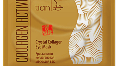 Кристальная коллагеновая маска для век Collagen Active