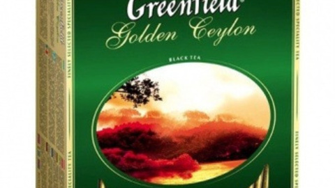 Чай GREENFIELD Golden Ceylon 100*2 г черный