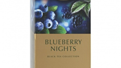 Чай GREENFIELD Blueberry Night 25*1,5 г черный