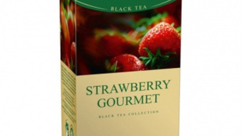 Чай GREENFIELD Strawberry Gourmet 25*1,5 г черный