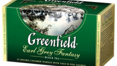 Чай GREENFIELD Earl Grey Fantasy 25*2 г черный