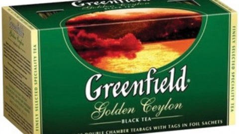 Чай GREENFIELD Golden Ceylon 25*2 г черный