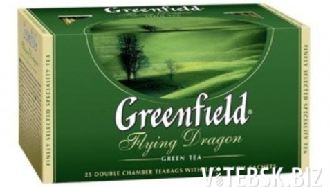 Чай GREENFIELD Flying Dragon 25*2 г зеленый