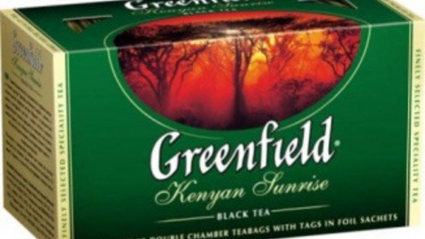 Чай GREENFIELD Kenyan Sunrise 25*2 г черныйf