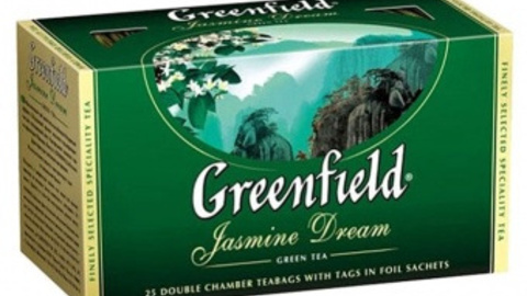 Чай GREENFIELD Jasmine Dream 25*2 г зеленый
